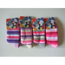Ponožky teplé Design proužky