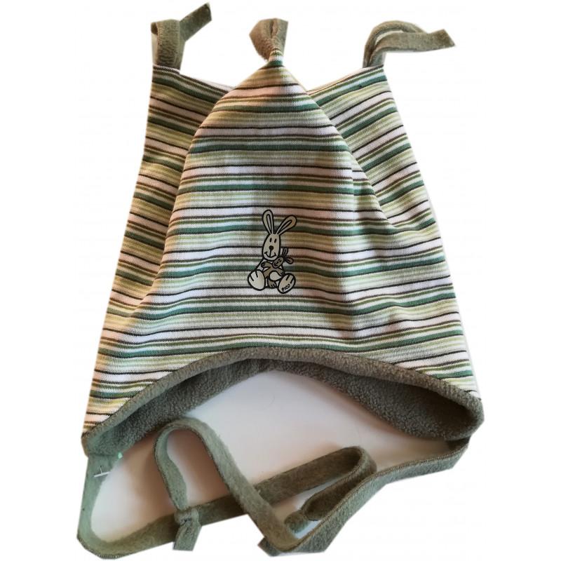 Zimní bunda Bugga pruhovaná