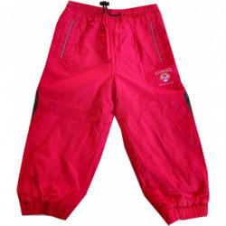 Kalhoty Kugo zateplené červené