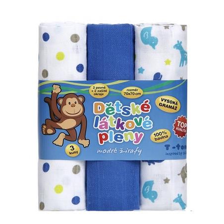 Plenkové svrchní kalhotky Bum Wrap Blue