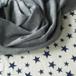 Jersey Doubleface Sterne -...