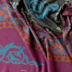 Variabilní šaty se sovou šedozelená