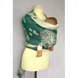 Kaštany - šátek na nošení...