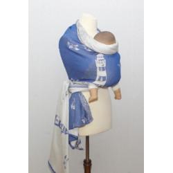 Maják - tmavě modrý - šátek...
