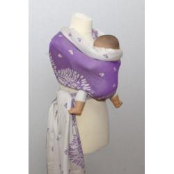 Levandule - fialová - šátek...