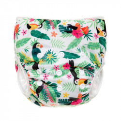Plenkové plavky T-Tomi parrots