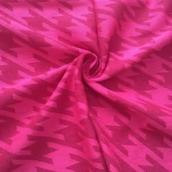 Hahnentritt pink - šátek na...