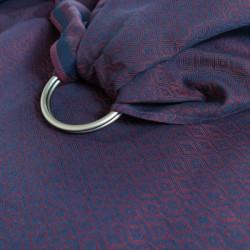 Jersey Doubleface Ringel Kiwi - elastický šátek na nošení dětí Didymos