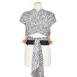 Hahnentritt anthrazit - šátek na nošení dětí Didymos