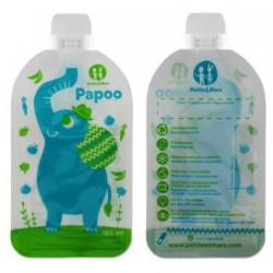 Kapsička na jídlo Papoo - slon