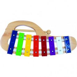Xylofon kovový